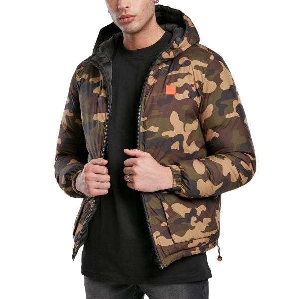 Urban Classics - Reversible Hooded Puffer Winter Wendejacke