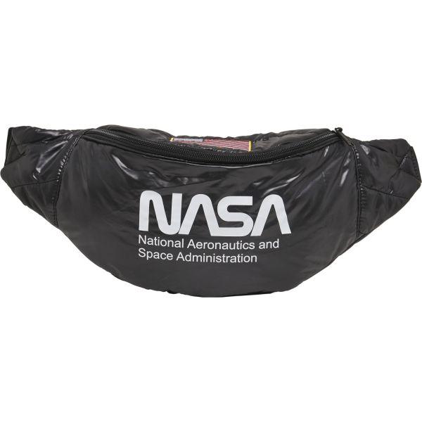 Mister Tee - NASA Puffer Shoulderbag Umhängetasche schwarz