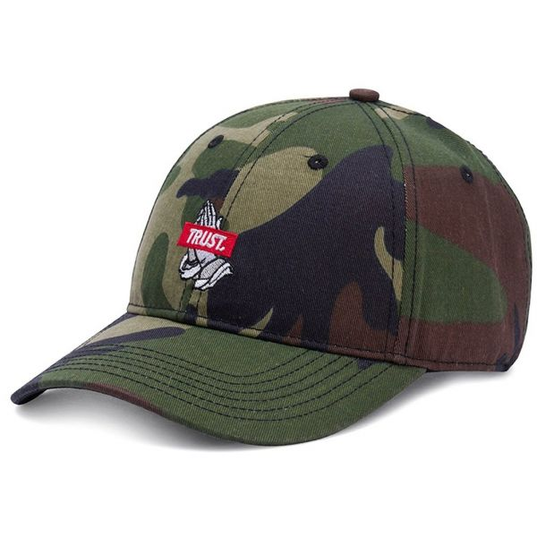 Cayler & Sons Snapback Cap - Trust Curved wood camo