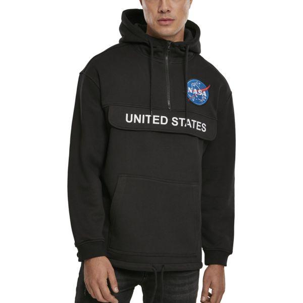Mister Tee Hoody - NASA Definition Pull Over black