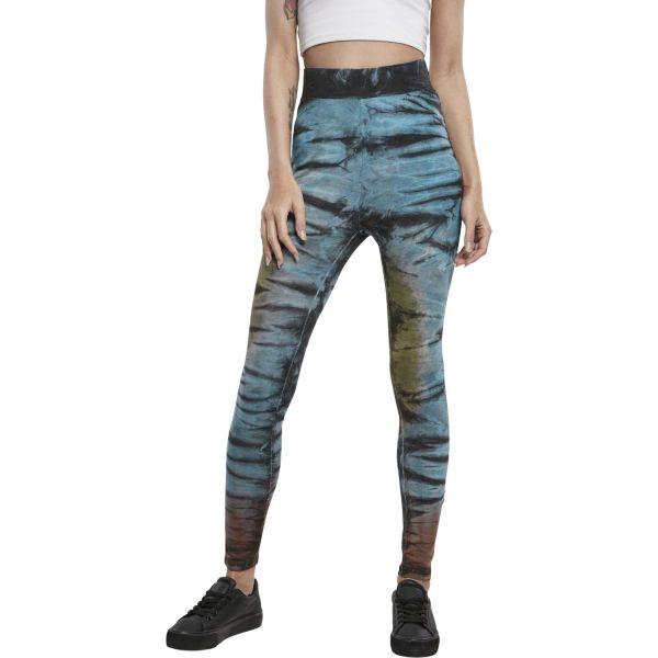 Urban Classics Ladies - Batik Tie Dye High Waist Leggings