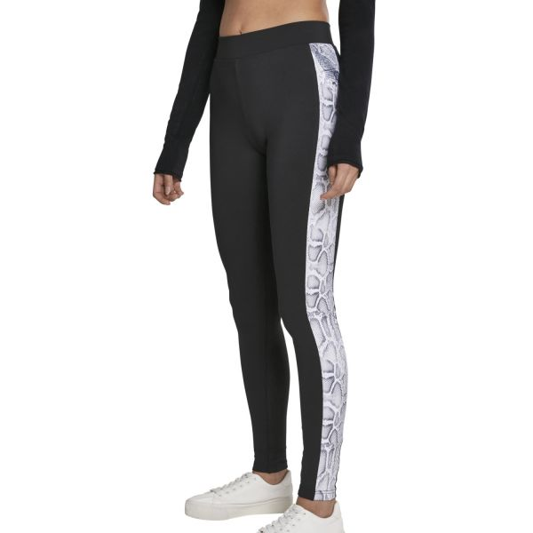 Urban Classics Ladies - Animal Side Pattern Stretch Leggings