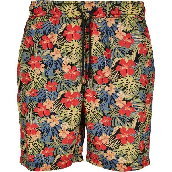 Urban Classics - Pattern Resort Sommer Shorts