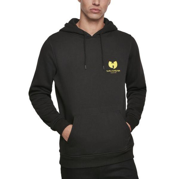 Wu-Wear Hip Hop Hoody - Big Back Logo black