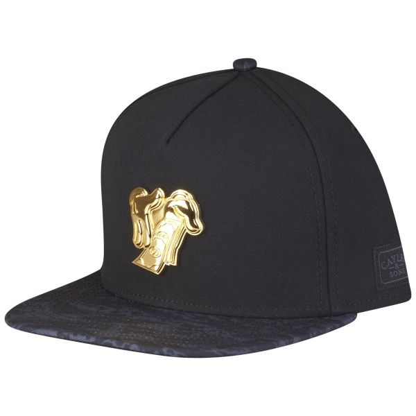 Cayler & Sons Snapback Cap - MAKE IT RAIN schwarz / gold