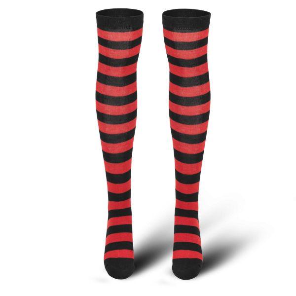Urban Classics Ladies - STRIPED Overknee Socken Kniestrümpfe