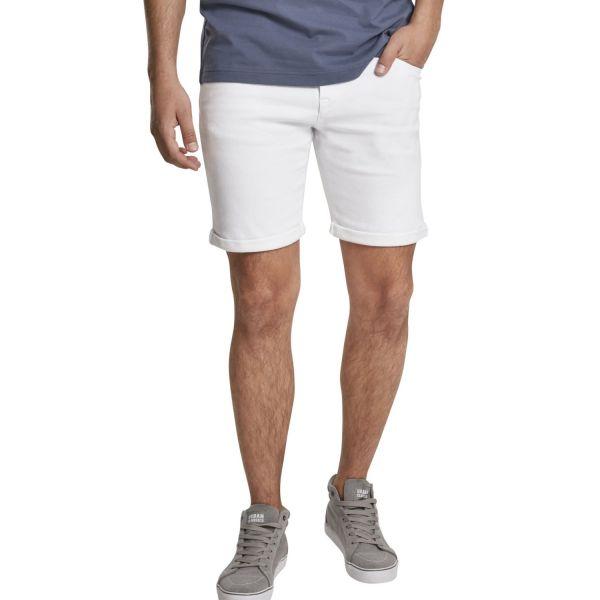 Urban Classics - 5 Pockets Slim Fit Denim Stretch Shorts