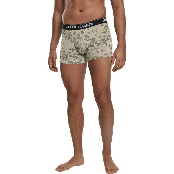 Urban Classics - Boxer Shorts 3er Pack multi