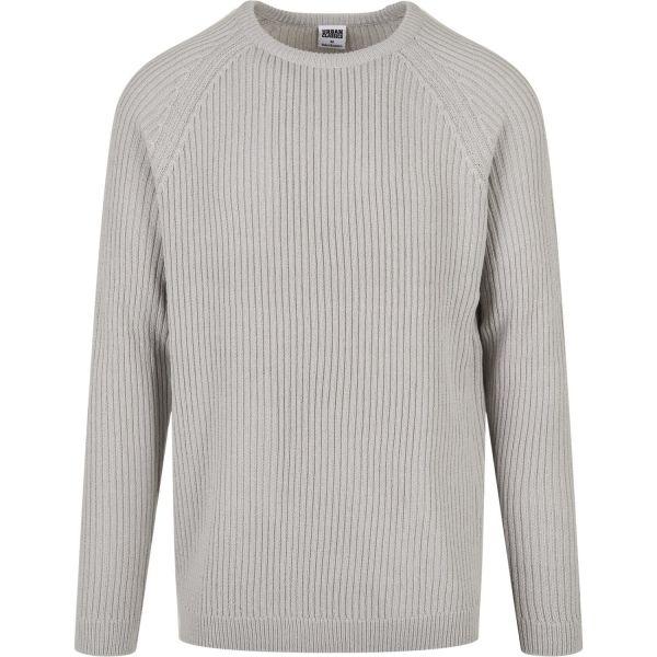 Urban Classics - Ribbed Raglan Sweatshirt Pullover