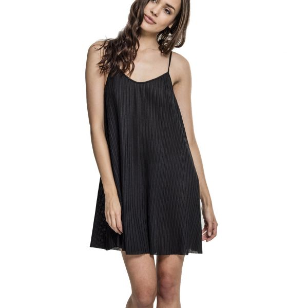 Urban Classics Ladies - Jersey Pleated Slip Kleid