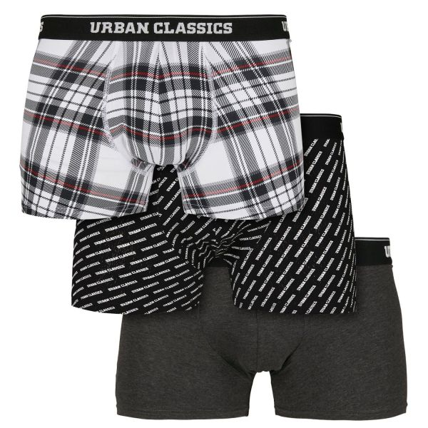 Urban Classics - MIXED Boxer Shorts 3er Pack