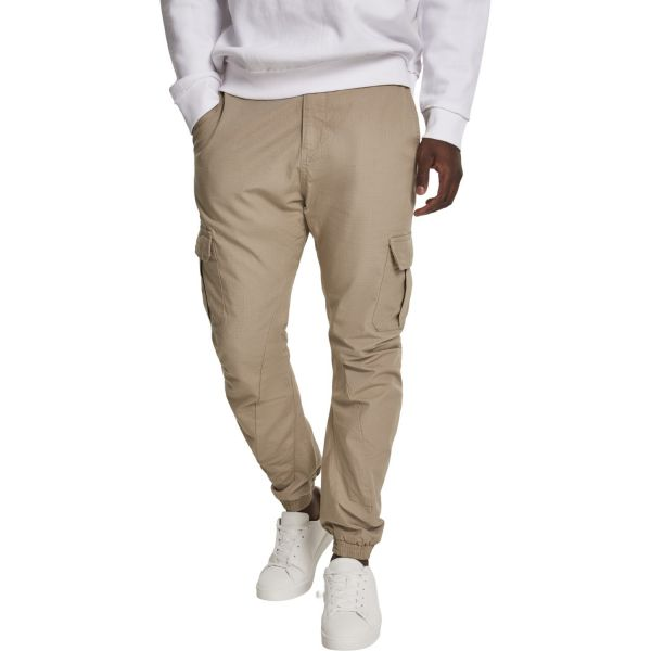 Urban Classics - RIPSTOP CARGO Jogging Pantalon beige