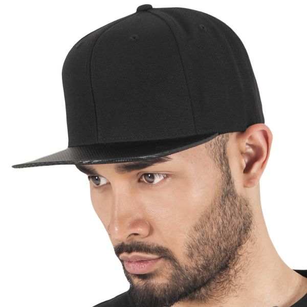 Flexfit CARBON Snapback Cap - schwarz