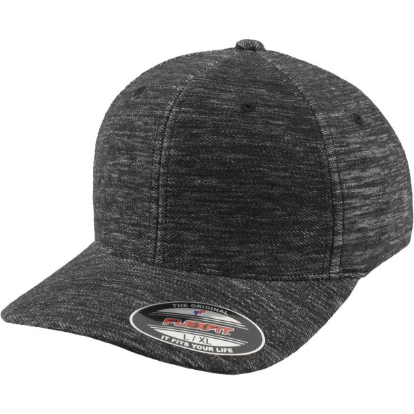 Flexfit TWILL KNIT Stretchable Curved Cap - grau