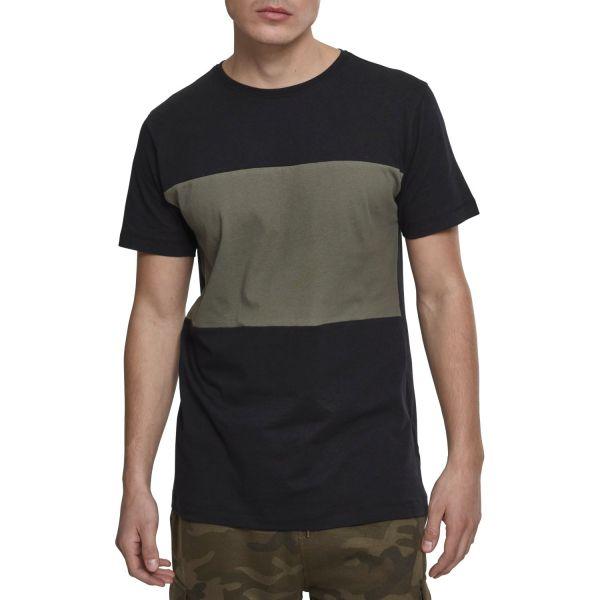 Urban Classics - Contrast Panel Block Sommer Shirt