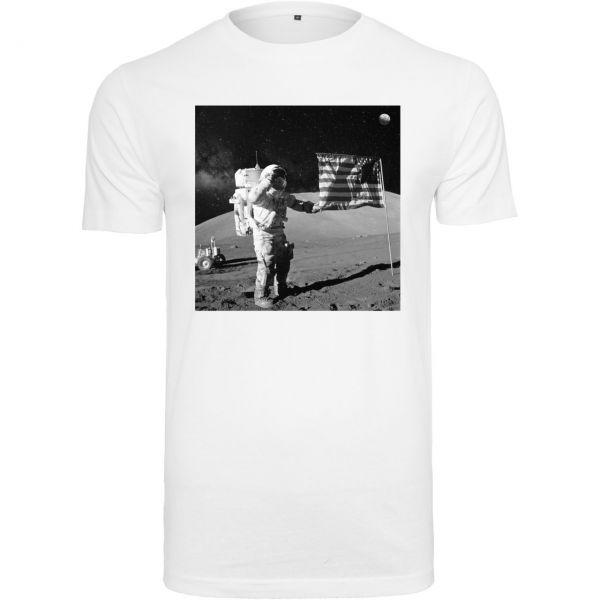 Mister Tee Shirt - NASA Moon Landing weiß