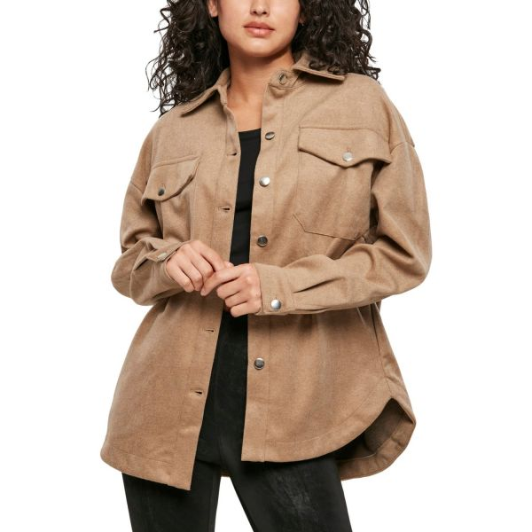 Urban Classics Ladies - Classic Oversized Shirt Jacke