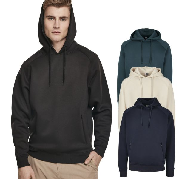 Urban Classics - Raglan Zip Pocket Hoody navy