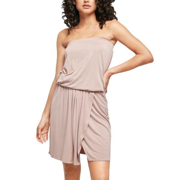 Urban Classics Ladies - Short Bandeau Stretch Kleid