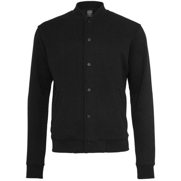 Urban Classics - 2-TONE College Jacket black / white