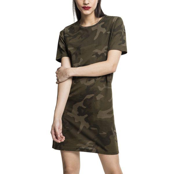 Urban Classics Ladies - Long Shirt Jersey Sommer Kleid