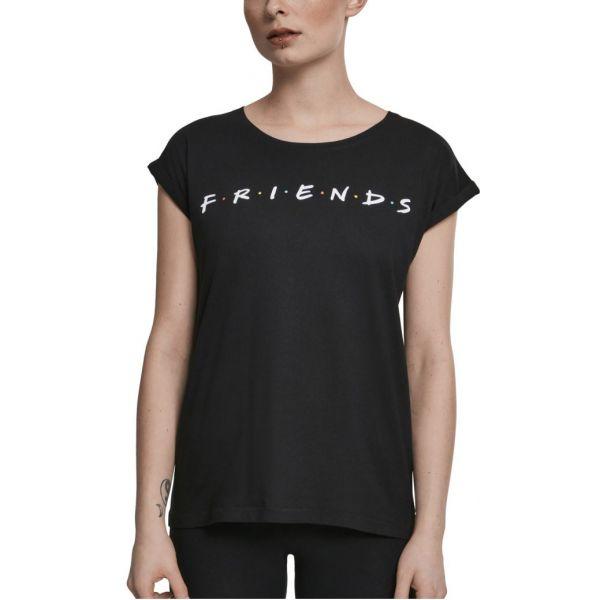 Merchcode Shirt - FRIENDS noir