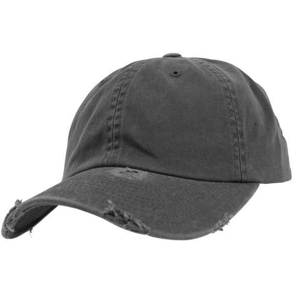 Flexfit Low Profile Destroyed Used Strapback Dad Cap