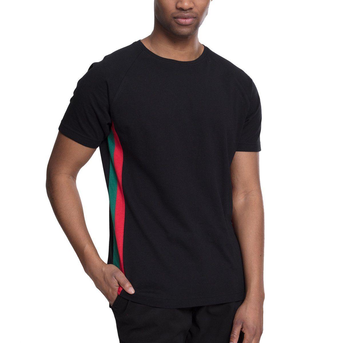 Urban Classics - Raglan Side Stripe Shirt