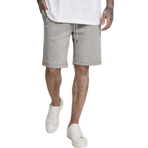Urban Classics - TWO FACE Fleece Shorts gris