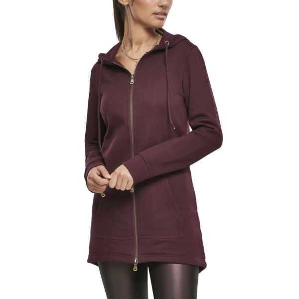 Urban Classics Ladies - SWEAT PARKA Zip Hoody noir