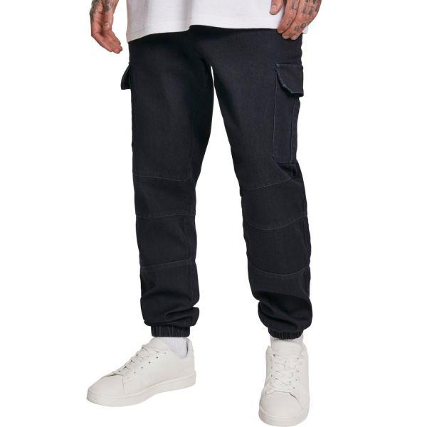Urban Classics - CARGO Jogging Denim Jeans Hose