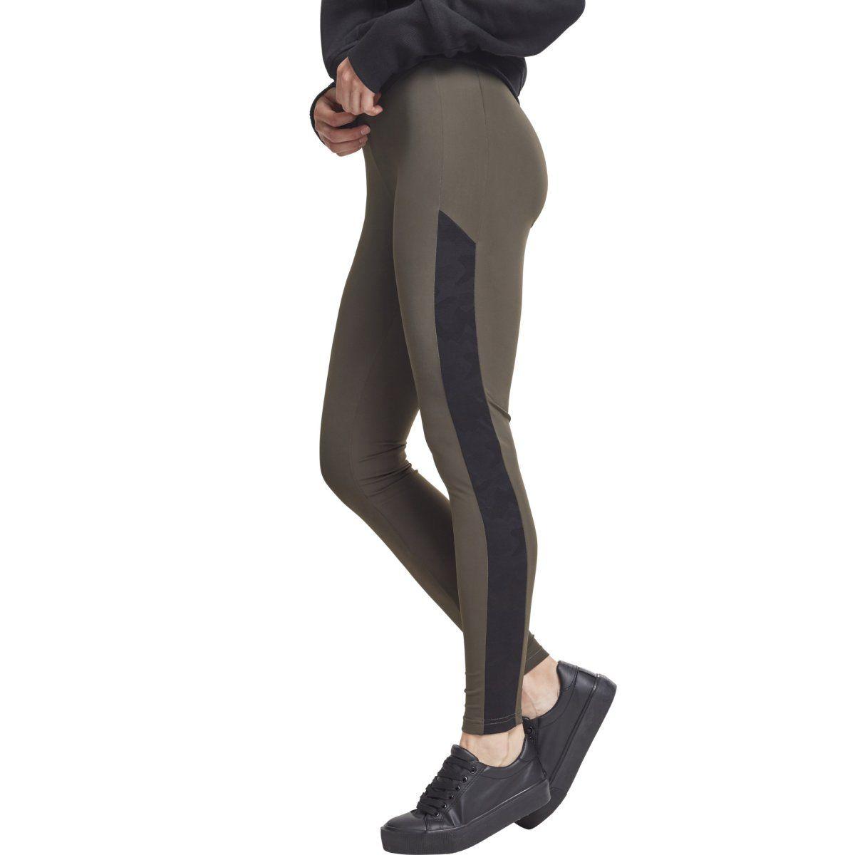 Urban Classics Ladies - Jacquard Camo Fitness Sport Leggings