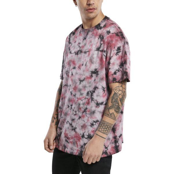 Urban Classics - Tie Dye Oversized T-Shirt mehrfarbig
