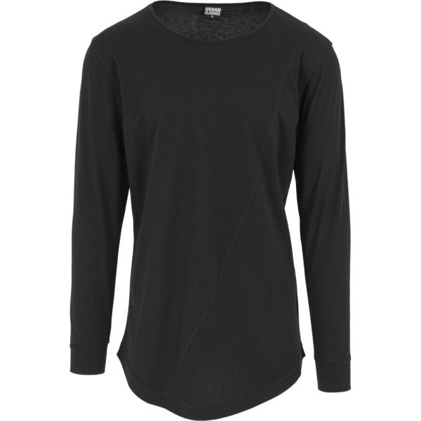 Urban Classics - SHAPED FASHION Longsleeve Shirt extra lang
