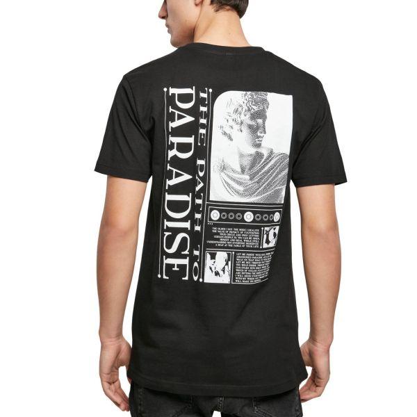 Mister Tee Grafik Shirt - PATH TO PARADISE schwarz
