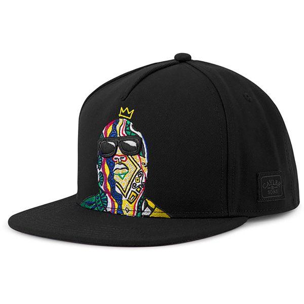 Cayler & Sons Snapback Cap - CROWNED noir