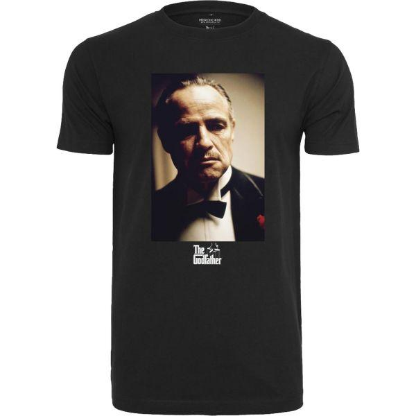 Merchcode Shirt - Godfather Portrait Shirt schwarz