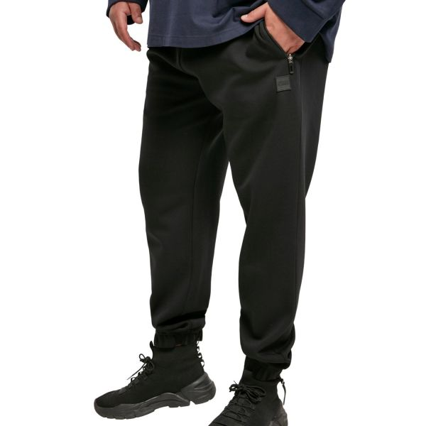Urban Classics - BASIC Track Stretch Sweatpants schwarz