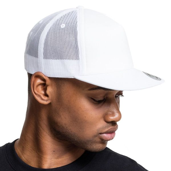 Flexfit 5-Panel RETRO Trucker Snapback Cap