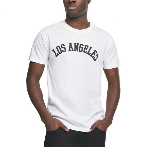 Mister Tee Shirt - LOS ANGELES blanc