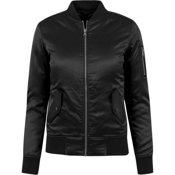 Urban Classics Ladies - SATIN BOMBER Jacket oldrose