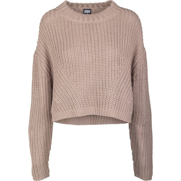 Urban Classics Ladies - Wide Oversize Sweater taupe brown