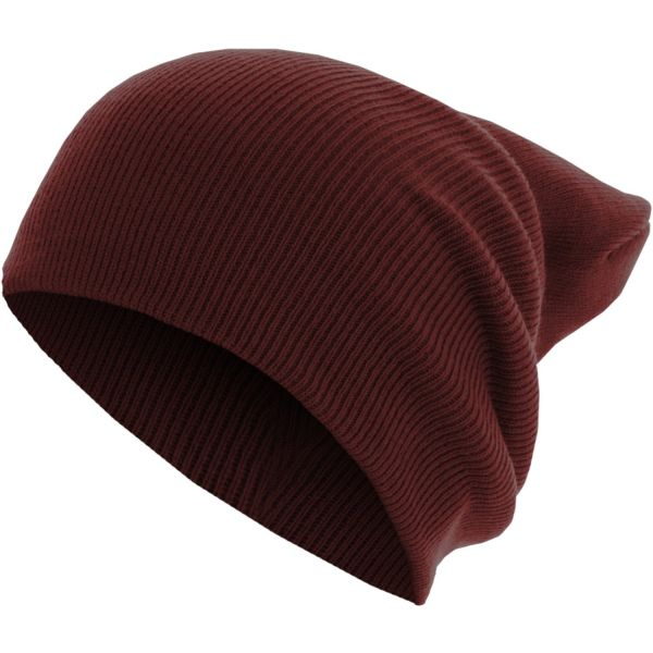 Urban Classics Beanie Bonnet - BASIC FLAP LONG charcoal
