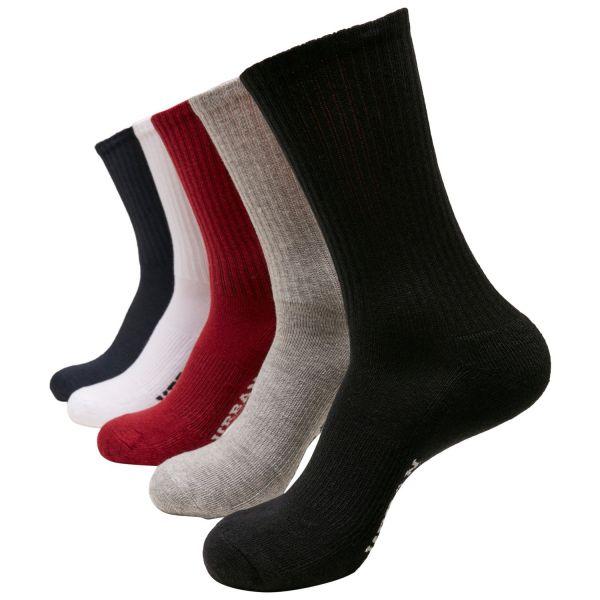 Urban Classics - SPORT Tennis Socken 5er Pack