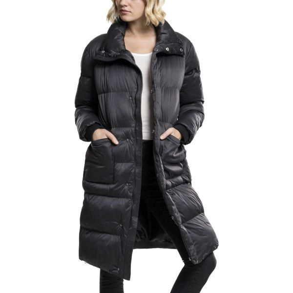 Urban Classics Ladies - Oversized Puffer Mantel schwarz
