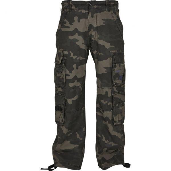 Brandit Pure Vintage Cargo Army Pantalon noir