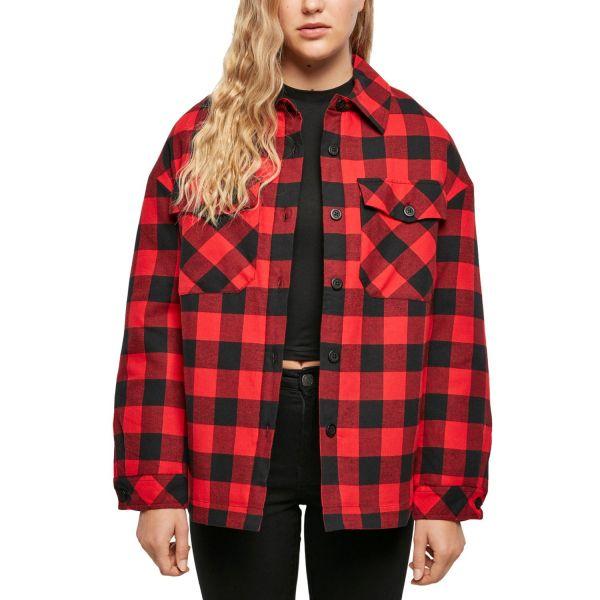 Urban Classics Ladies - Flanell Oversized Shirt Jacke
