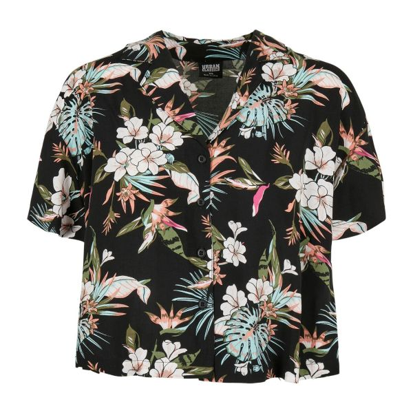 Urban Classics Ladies - Viscose Resort Shirt Hemd