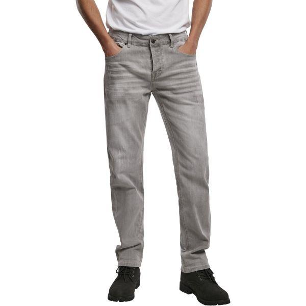 Brandit - Slim-Fit Stretch JAKE Denim Jeans gris