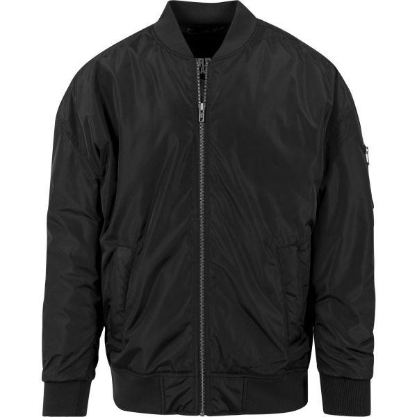 Urban Classics - OVERSIZED Bomber Jacket black